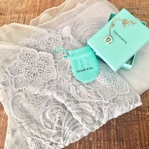 Tiffany & Co. Jewelry - Tiffany & Co. Circle Silver Necklace