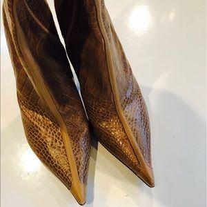 Casadei Shoes - Casadei women's alligator boots