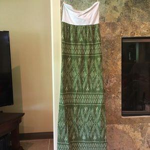 Roxy Dresses & Skirts - Roxy maxi dress green