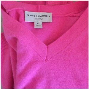 White + Warren Sweaters - SALE💖PINKEST cashmere sweater by White + Warren