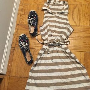 Flirty Striped Summer Dress