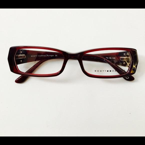 soctt harris Accessories | Scott Harris Sh288 Eyeglass Frames Size ...