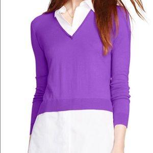 Lauren Ralph Lauren Tops - NWT Lauren Ralph Lauren Duet Look Shirt