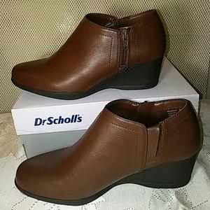 Dr. Scholl's Shoes - Dr Scholl's Cognac Ankle Boots