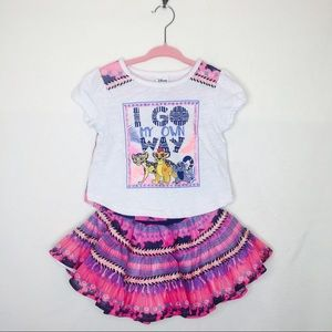 Other - Disney Lion King top and skirt