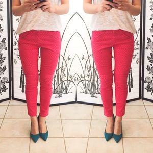 GAP Pants - GAP ultra skinny pants, red, size 0