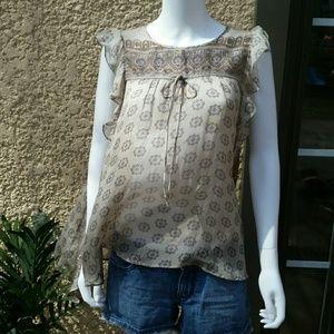 Zara Tops - Zara Silk Blouse