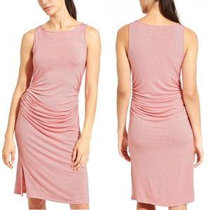 Athleta Dresses & Skirts - Athleta Sunkissed Stripe Dress – Coral Pinstripe
