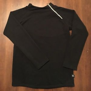 nununu Other - EUC nununu side zip pullover / black