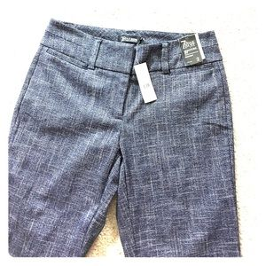 NY & C 7th ave signature pants sz 2 tall nwt $53