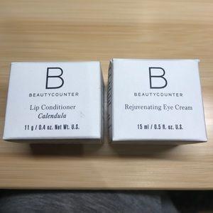 Beautycounter Lip conditioner and Eye Cream