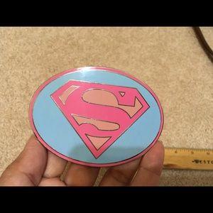 Supergirl Belt Buckle authentic