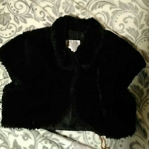 Justice Other - Girls Fuzzy Cropped Cardi