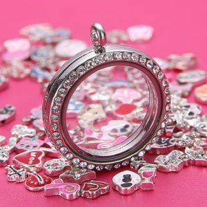 Jewelry - locket w 6 FREE charms. You pick charms!