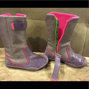 PLAE Other - Plae girls boots, beautiful color!! Size 9