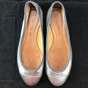 """Corso Como Shoes - 💥SALE💥 CORSO COMO Metallic Flats """"Pewter"""" 7.5"""