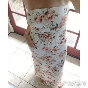 SALE|| Floral Maxi || Available in three colors