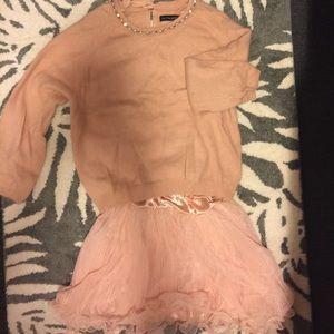 Sweater dress set