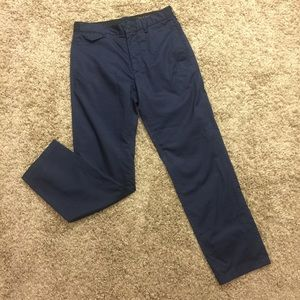 Rag and Bone navy trousers