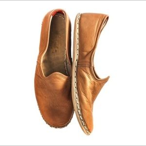 "Sabah Shoes - Sabah Turkish ""Tunisian Camel"" Men's Shoe"