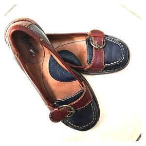 Born Shoes - Born slip on leather loafers sz 6 Med beautiful