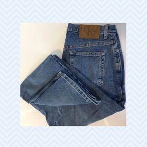Calvin Klein Denim - Calvin Klein faded jeans, Sz. 10 great condition!