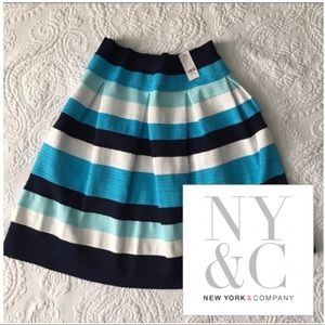 New York & Company Dresses & Skirts - NWT Pleated Bandage Skirt by New York & Company