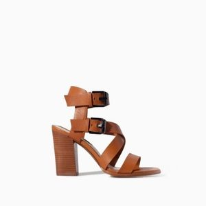 Sale Zara leather sandals