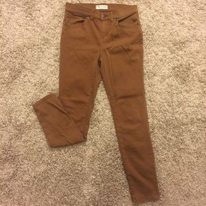 High Riser Skinny pants