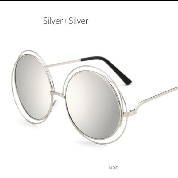 61a590becad8 📌📍Oversized round sunglasses Chloe style
