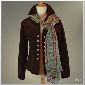 Dress Barn Jackets & Blazers - Dress Barn women's thin wale corduroy jacket