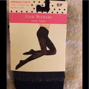 Isaac Mizrahi Accessories - Isaac Mizrahi Premium Tights XL