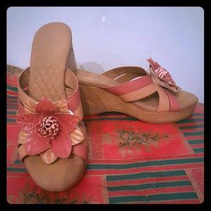 Easy Spirit Shoes - Easy Spirit Marlene Man-made platform sandals 5.5M