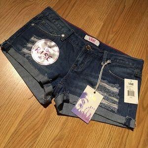 YMI Pants - Denim Festival shorts