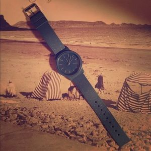 Komono Accessories - Anthropologie KOMONO blue watch