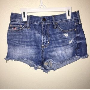 Hollister Pants - Hollister High Waisted Shorts