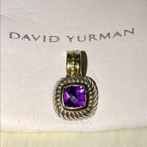 David Yurman Jewelry - David Yurman Albion Amethyst Pendant Enhancer