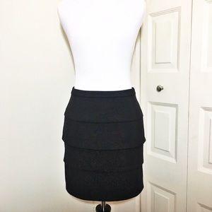 Jack by BB Dakota Dresses & Skirts - JACK by BB DAKOTA Black Scallop Mini w/ Zipper