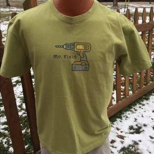 "Life is Good Other - Life is Good Mens ""Mr. Fix It"" T Shirt Size Medium"