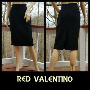 RED Valentino Dresses & Skirts - 🆕RED VALENTINO Chic Textured Pencil Skirt