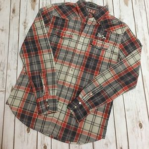 Jachs Other - JACHS - Plaid Casual Button-Down, Long Sleeve