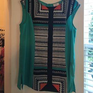 ECI Tops - ECI button back blouse