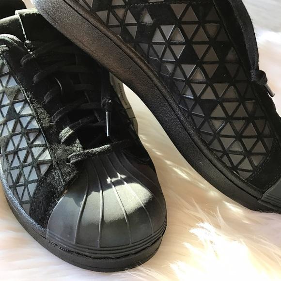le adidas superstar xeno tessile camoscio riflettente poshmark