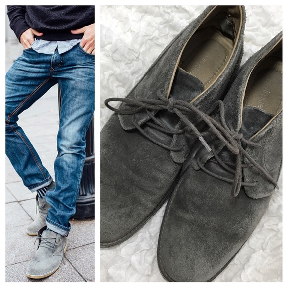 Calvin Klein Shoes - Men's CK Phillip - Suede Chukka Boot