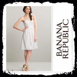 Summer sale! Banana Republic white eyelet dress