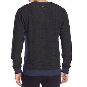 c20c187089e3ca ALO Yoga Shirts - Men s Alo Yoga Relaxed Crew Neck Sweatshirt Blue