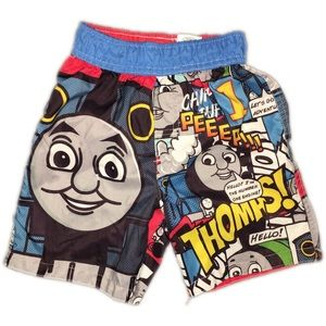 Thomas & Friends Other - Thomas and Friends swim trunks 4T