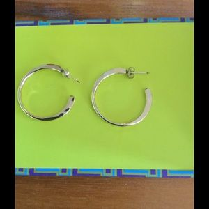 Jewelry - Hammered Hoops💛💛💛