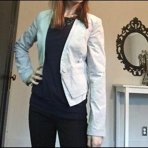 H&M Jackets & Blazers - Corduroy Blazer in Beige - Size 2