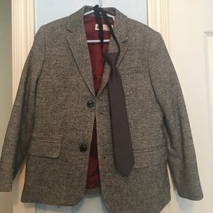 H&M Boys blazer and tie